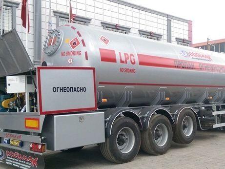 новая газовая цистерна DOĞUMAK 50M3 LPG SEMI-TRAILER TRANSPORT TANKER WITH COUNTER, PUMP AND HO