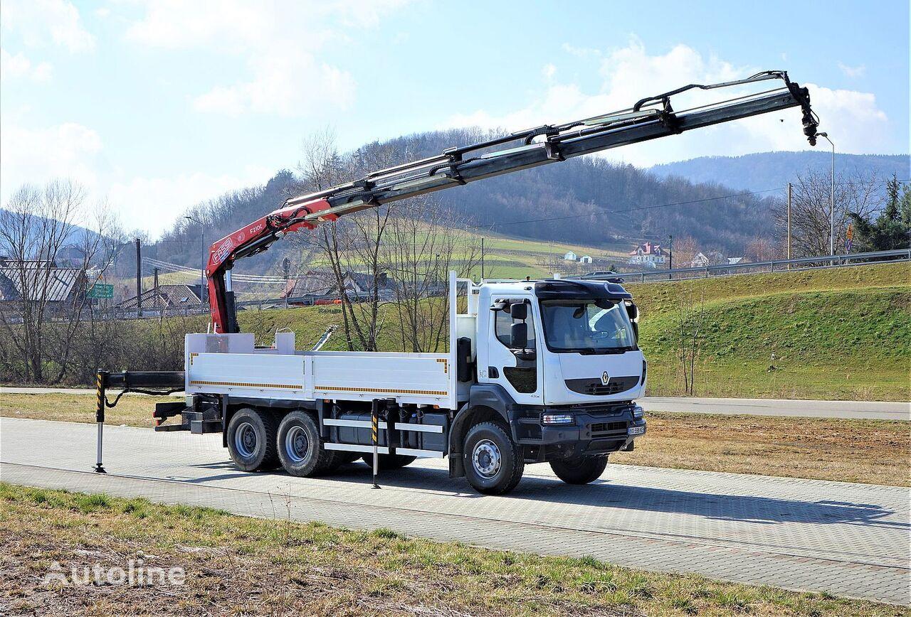 бортовой грузовик RENAULT Kerax 430 DXI*Pritsche 6,50m + Kran* Topzustand!