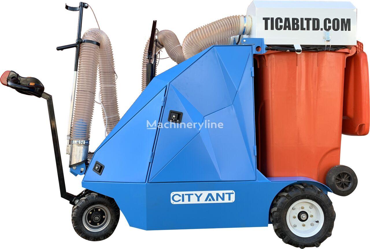 новая уборочная машина  Уличный вакуумный пылесос CityAnt Electro/Street Vacuum CLEANER
