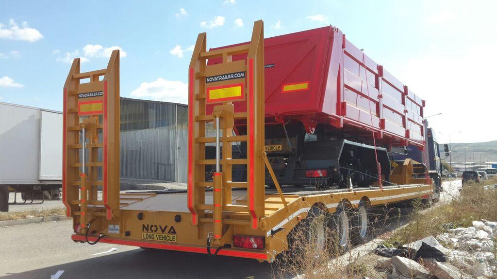 новый полуприцеп низкорамная платформа NOVA 2 to 5 axle Lowbed Trailers