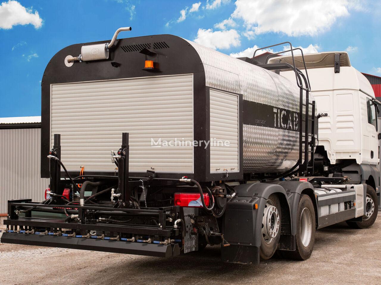 новый автогудронатор TICAB Bitumen distributor ABS-8000