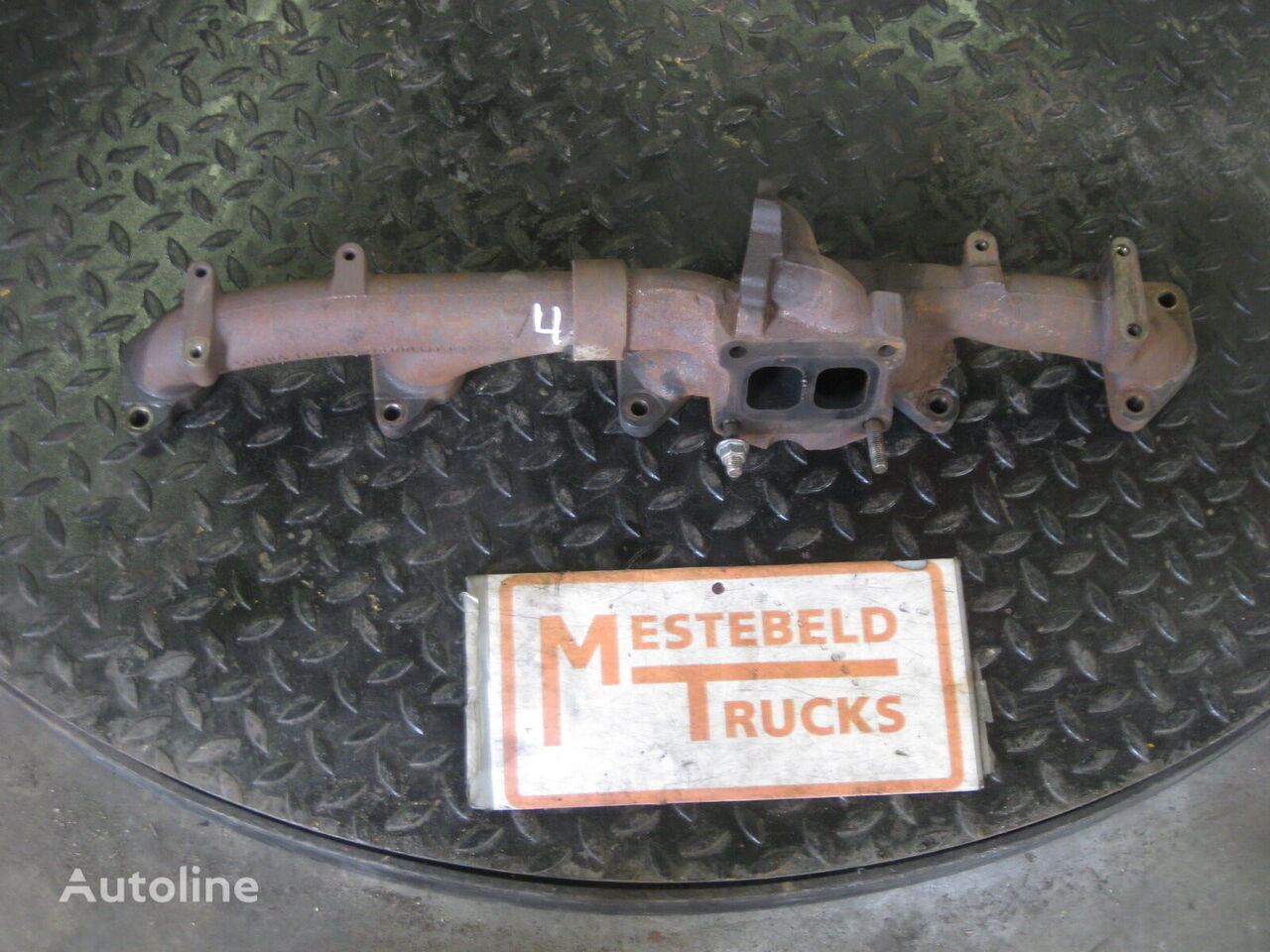 коллектор SCANIA Uitlaatspruitstuk для грузовика SCANIA P-serie