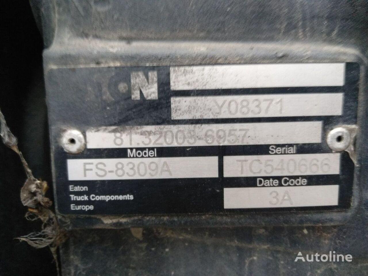 КПП EATON коробка передач FS-8309A для грузовика MAN TGL 12.240 8.240